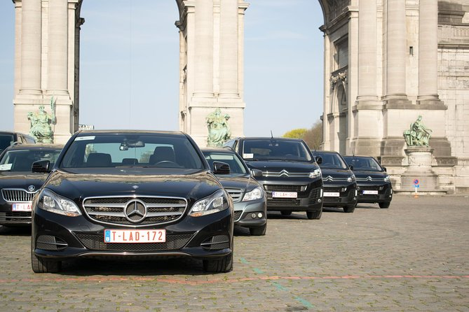 From Brussels city to CRL Charleroi Airport- Private Airport transfer 1-7pax