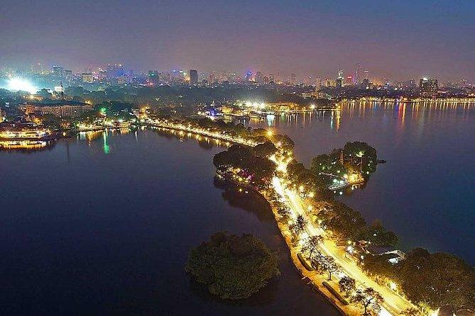 Hanoi nightlife discovery by motorbike