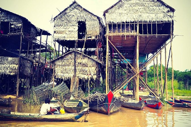 Kompong Khleang Floating Village & Stilt Houses