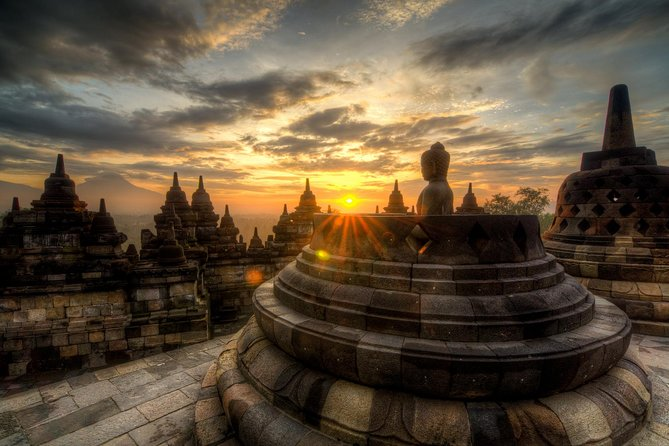 Borobudur Sunrise, Merapi Volcano lava tour & Prambanan Full Day Tour