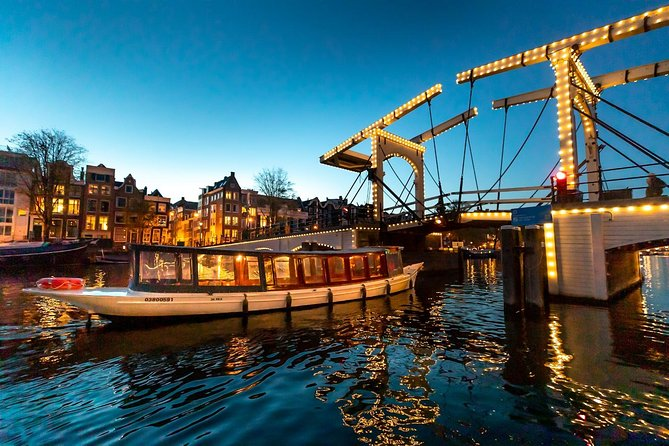 Amsterdam Small-Group, Guided Evening Canal Cruise with Bar on Board