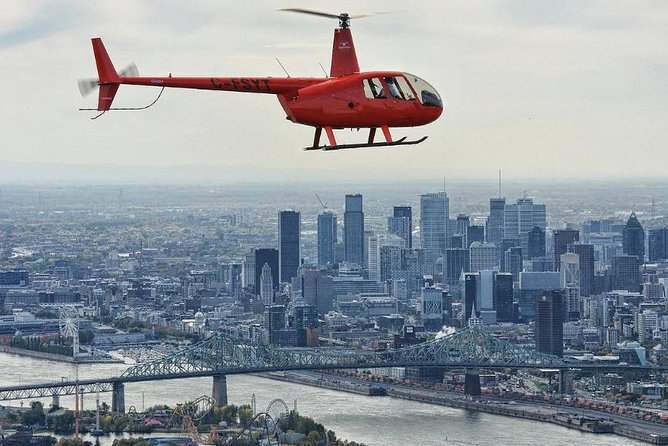 Helicopter Tour Over Montreal