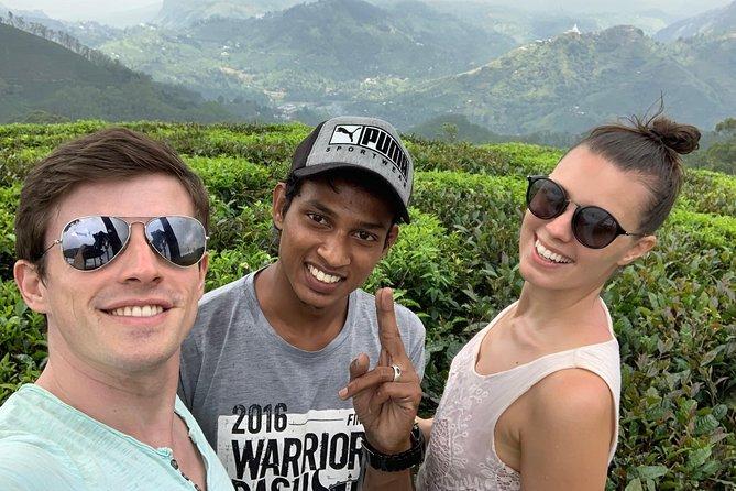 Guided tour Ella & Diyaluma waterfall by car