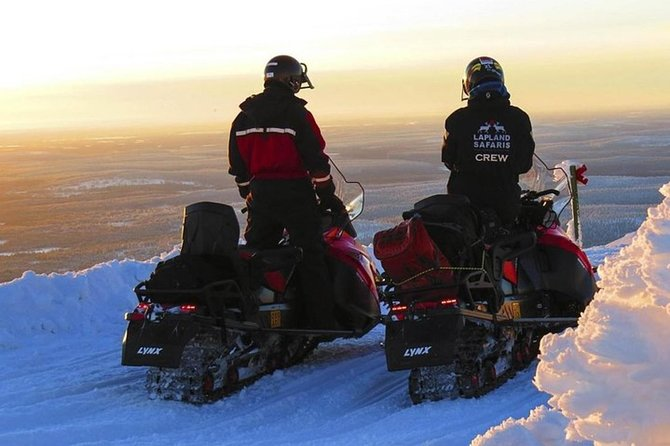 Lapland Snowmobile Safari from Levi photo 2