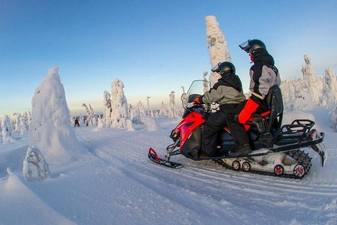 Lapland Snowmobile Safari from Levi photo 4