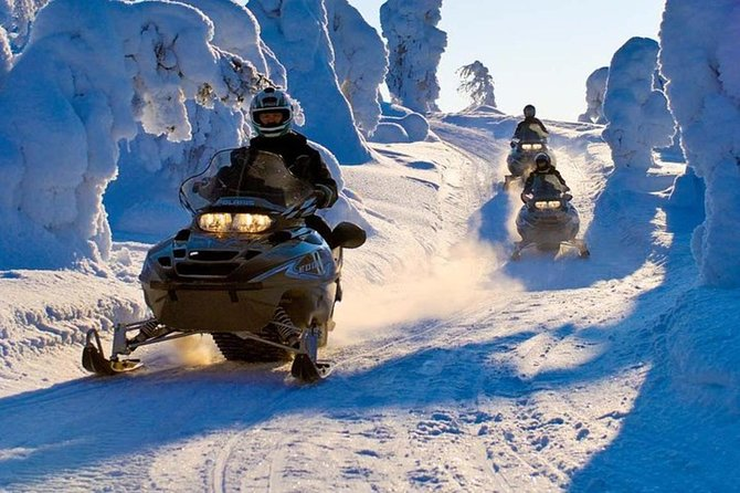 Lapland Snowmobile Safari from Levi photo 1