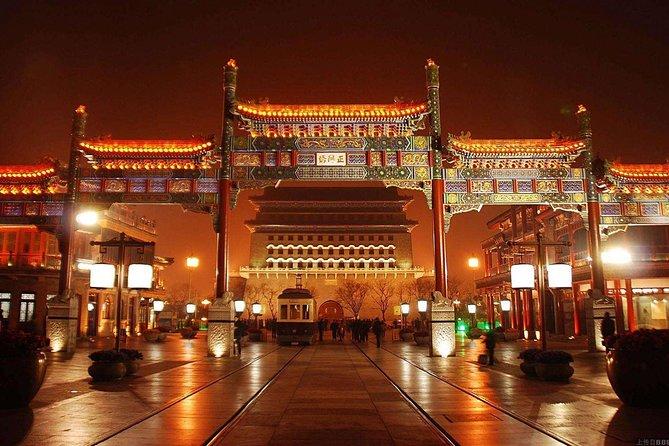 Excursão noturna clássica de escala de Pequim