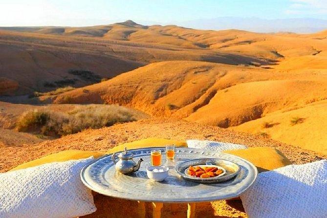 Desert Agafay & Waterfalls & Atlas Mountains Camel Ride Day trip From Marrakech