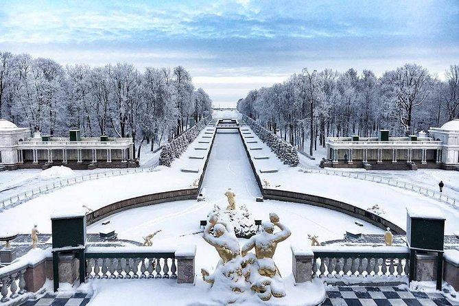 Winter Imperial residences Tour - Peterhoff & Pushkin