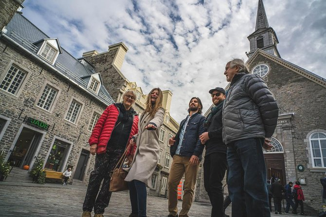 Old Quebec City Walking Tour + Funicular (Winter/Autumn)