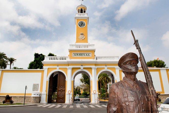 Cartagena Military and Civil War bike tour