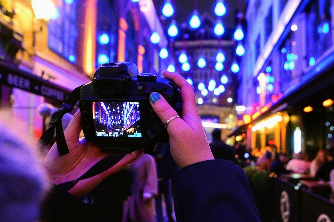 London Christmas Lights Photography Tour