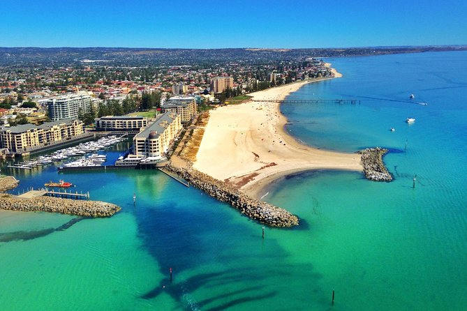 The beautiful Adelaide coastline awaits