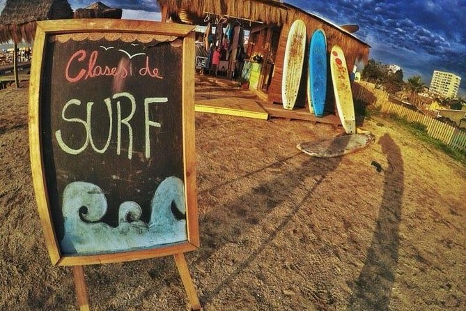 Surf & Sandboard riding adventure in Valparaiso + Chilean drinks & food