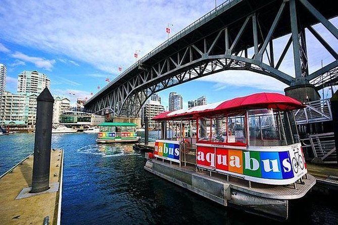 Vancouver City Sightseeing Private and Aquabus False Creek Ferry Ride