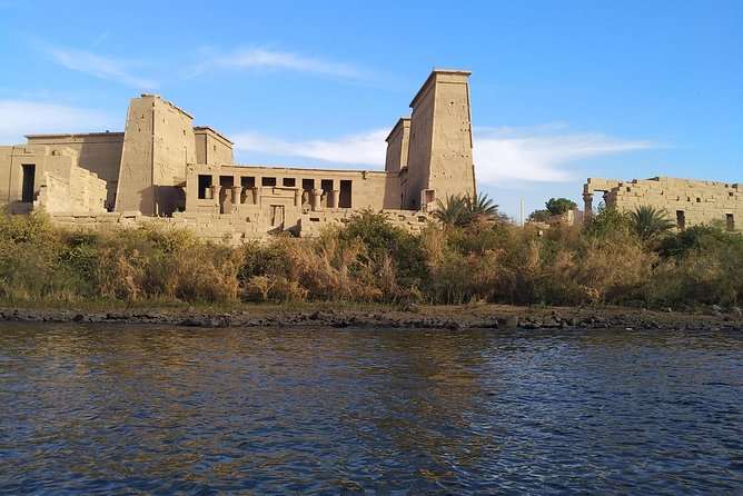 Philae Temple and High Dam