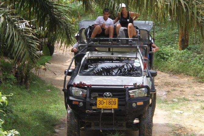 4X4 Tour around the Island