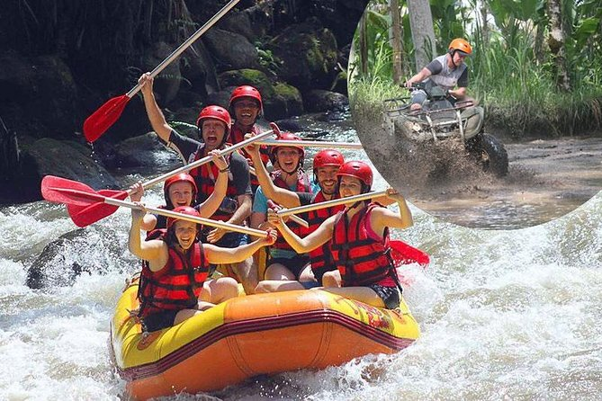 Bali Ayung Whitewater Rafting and ATV Ride Adventure