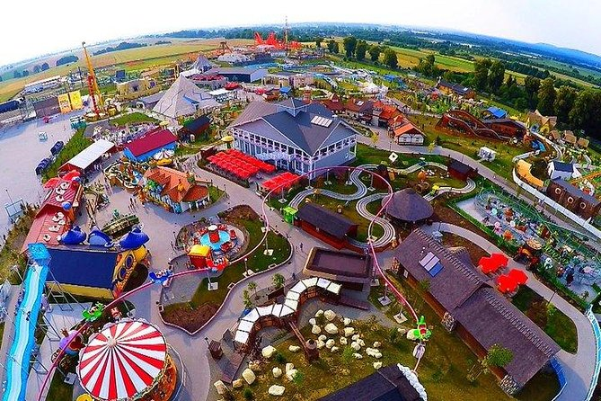 Energylandia Amusement Park: from Kraków