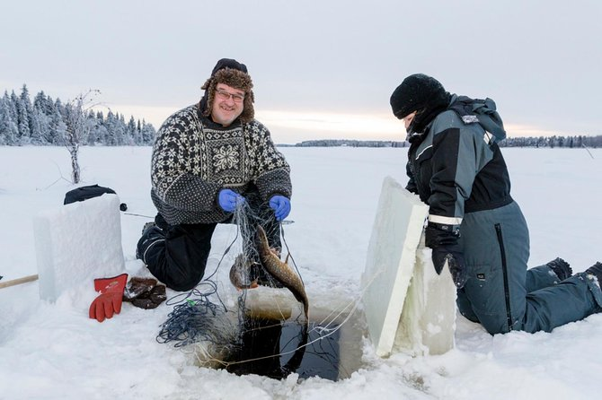Ice Fishing from Rovaniemi