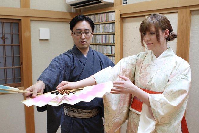 Japanese dance experience in Yokohama