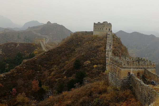 Private tour to & from Jinshanling Great Wall