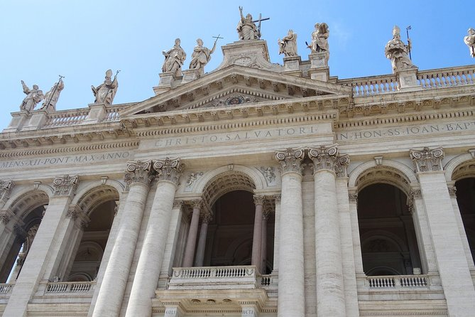 Private Rome Walking Tour Basilica San Giovanni, Baptistery and Scala Santa