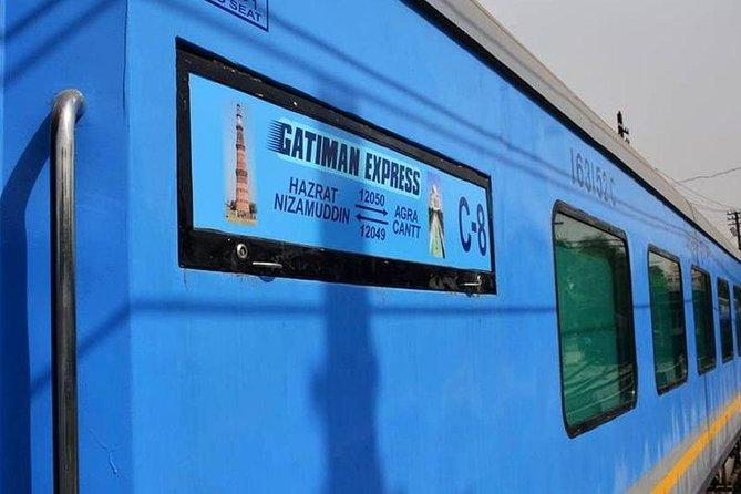 Same Day Taj Mahal & Agra City Tour By Express Train (All Inclusive)