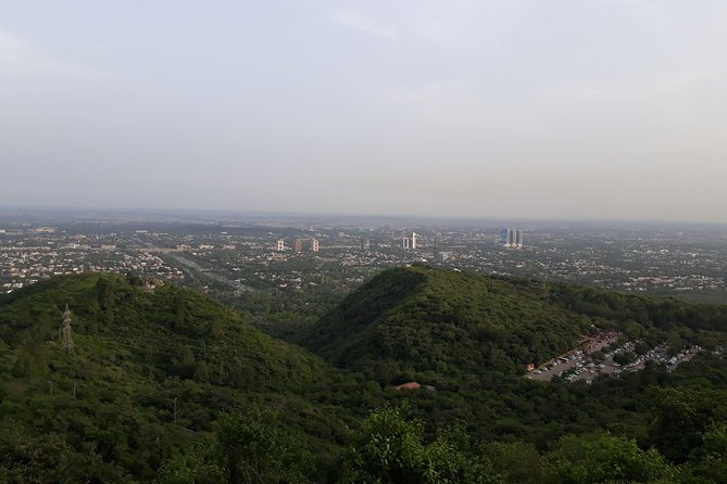 View of Daman - e - kon, from top of it.