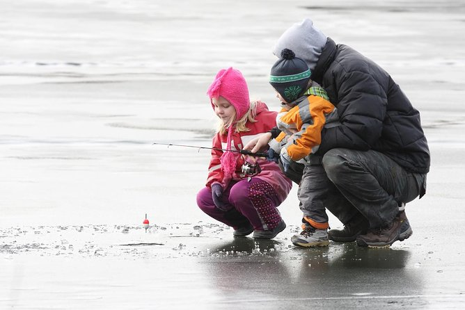 Ice Fishing Experience with BBQ in Rovaniemi