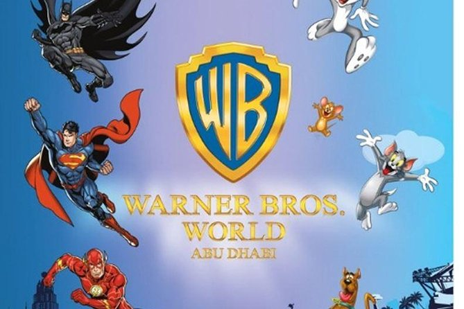 Abu Dhabi City Tour With Warner Bros World