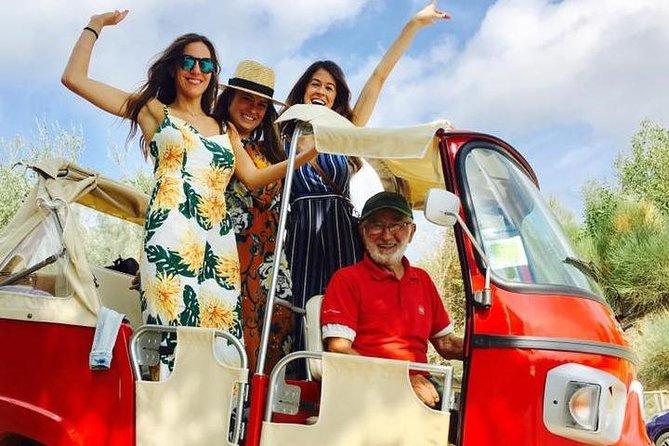 Tuk-Tuk Excursion in Tuscany