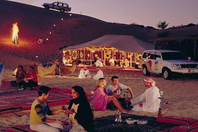 Full Day Desert Safari with Buffet Dinner,Sand Boarding & Camel Ride