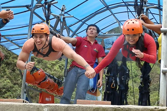 Canopy, Cascade Route And Tree House 3 Activities In One Day