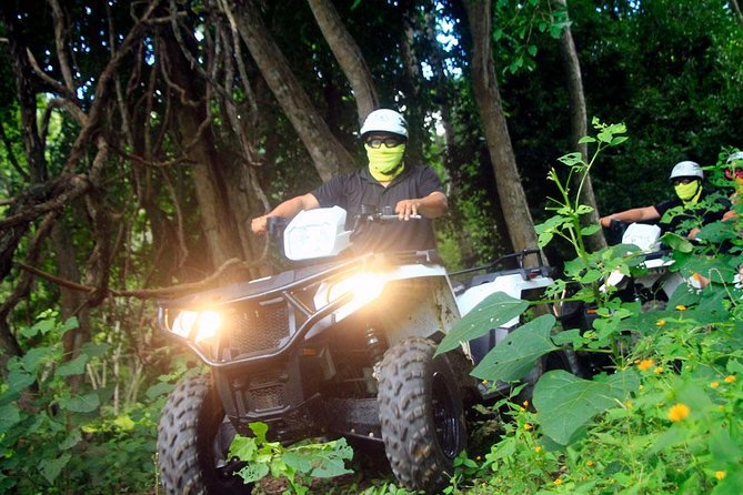 Combo - Jungle ATV Tour (one bike for two adults) + Hiking Tour for two photo 4