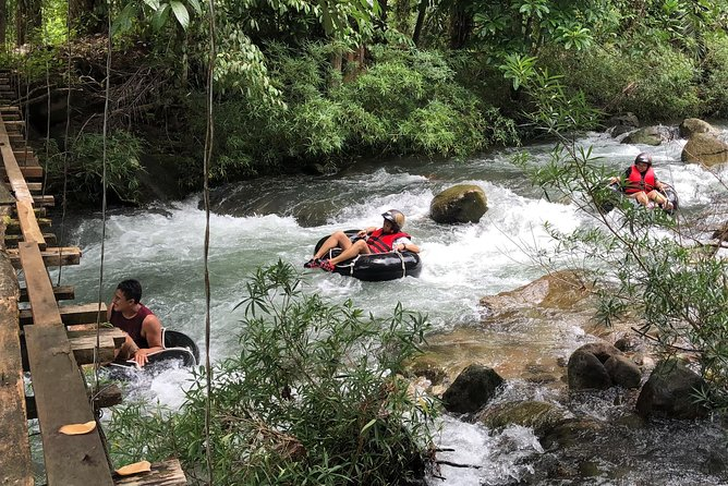 Fun River Tubing in the Jungle & Grow some Rice! - Lunch & Transfer from Phuket