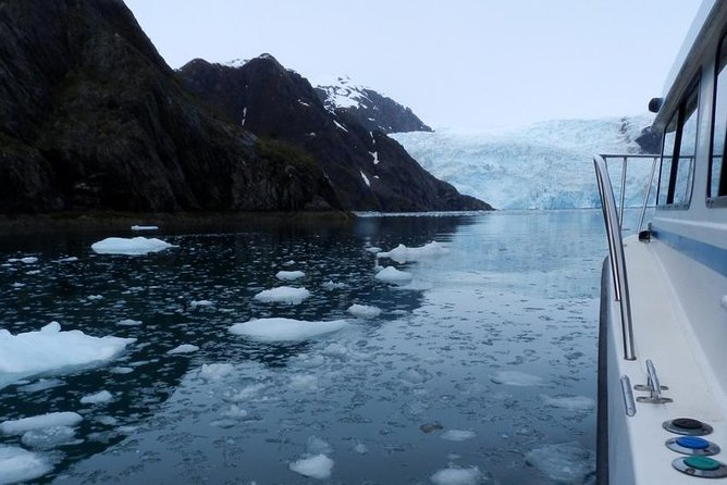6 Guest Max - Tidewater Glacier Express (3/4 day tour)