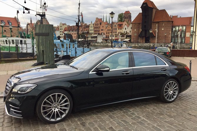 VIP Transfer from Gdansk to airport Gdańsk (GDN) - Mercedes S Class w222