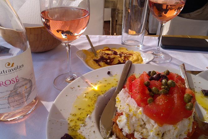 Wine Tasting Private Day Experience with Lunch, Ancient Corinth & Ancient Nemea
