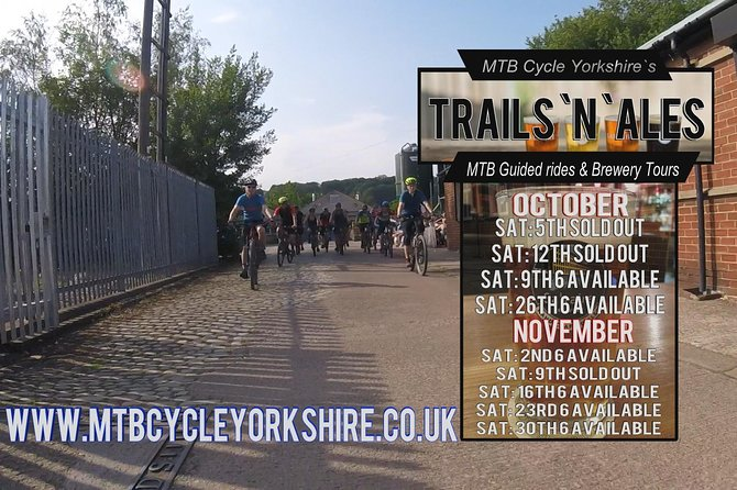 Trails `n` Ales Guide mountain bike rides & brewery tour