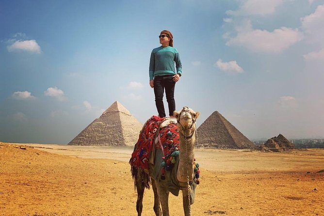 Camel Ride arround Pyramids of Giza