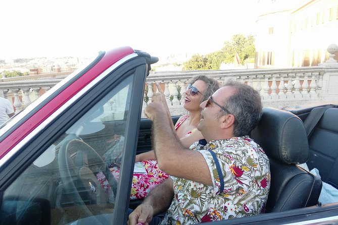 Rome via Vintage convertible BMW - Taste of traditional food and wine