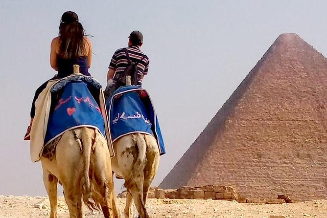 Sunrise/Sunset Camel Ride around pyramids