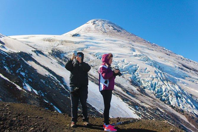 Trekking Glacier Viewpoint of Osorno Volcano