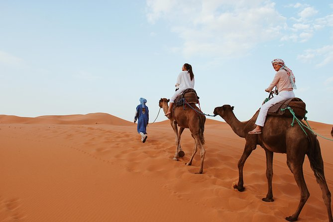 private desert tour 3 days 2 nights to Merzouga desert From Marrakech