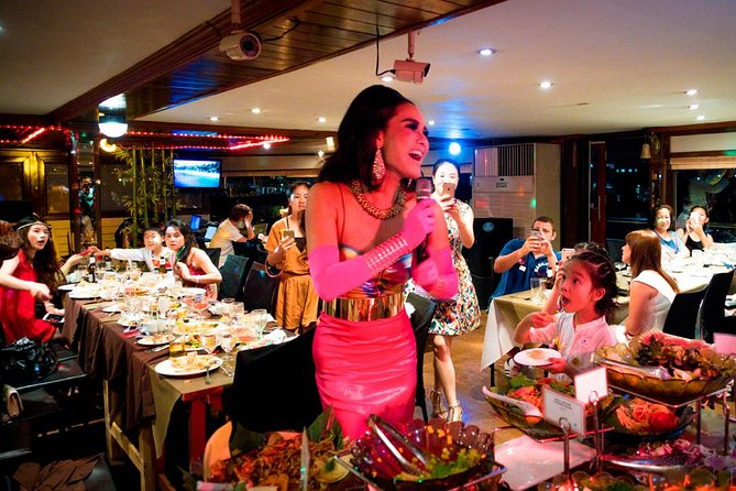 White Orchid Dinner River Cruise in Bangkok Admission Ticket