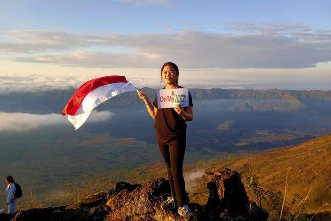 Assistir ao nascer do sol no alto do vulcão Monte Batur