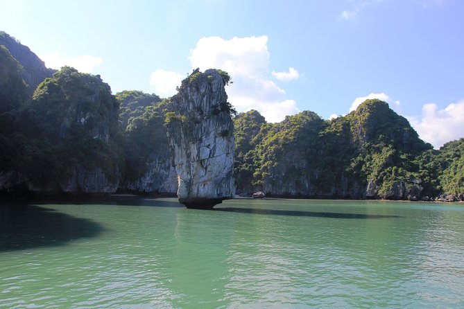 Full day boat trip with Cat Ba Captain Jack to Lan Ha Bay and Ha Long Bay