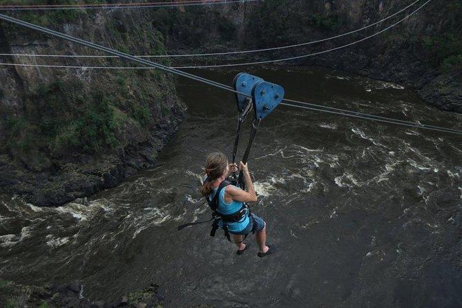 Zipline - Victoria Falls