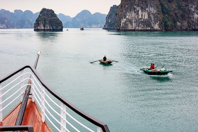 Group Lan Ha Bay Day Cruise Including Hotel Transfers from Hanoi
